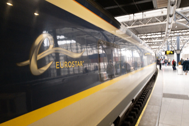 The Eurostar that will take us home