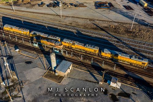 UP 3601 | EMD SD9043MAC | UP Sargent Yard
