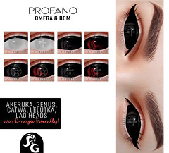 Profano Eyes Bom & Omega Darkness Monthly
