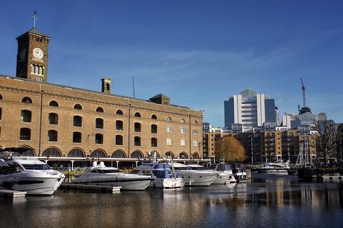 Afternoon in St Katharine Docks