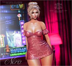 {le fil cassé} Nora Dress for FaMeshed!