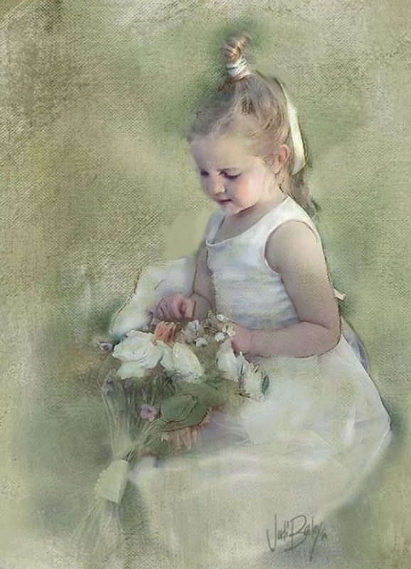 """Miss Marlowe""  -Flower Girl"