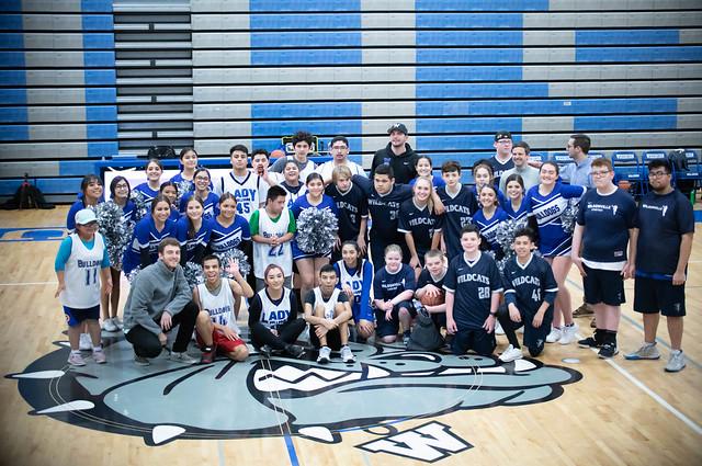 UNIFY Basketball: Woodburn vs. Wilsonville January 30, 2020