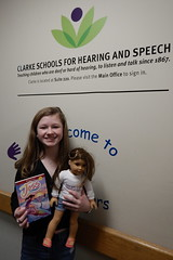 Morgan Donates American Girl Dolls in Philadelphia