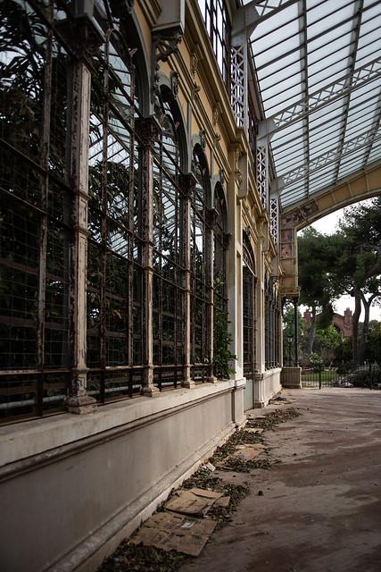 Deserted Greenhouse Near Citadel Park