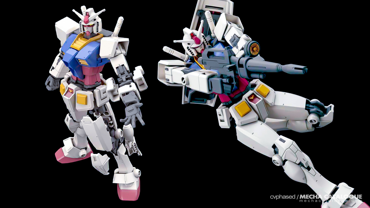"G40 Engineering on the Classic Design? HG RX-78-2 Gundam ""Beyond Global"""