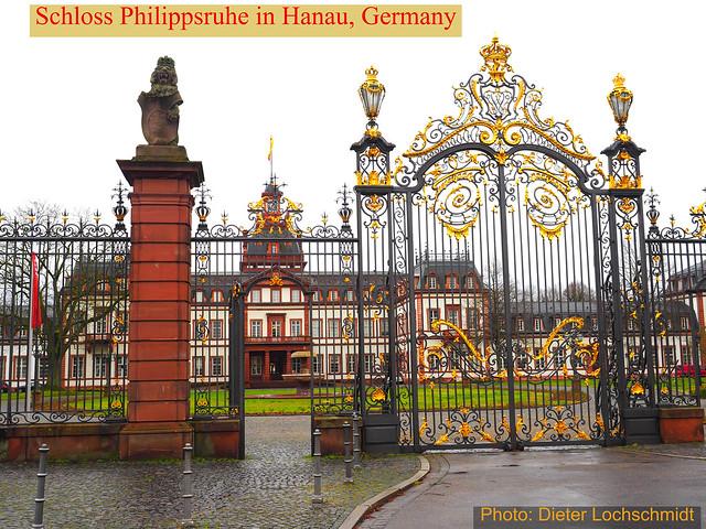 Old Castle (Schloss Philippsruhe) in Hanau, Germany