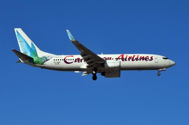 9Y-ANU Boeing 737-8Q8 at CYYZ