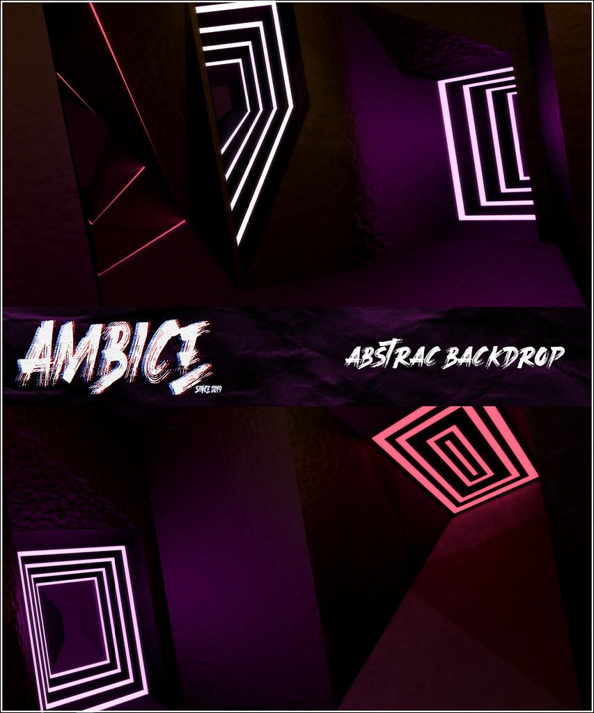 -A M B I C E - Abstrac Backdrop