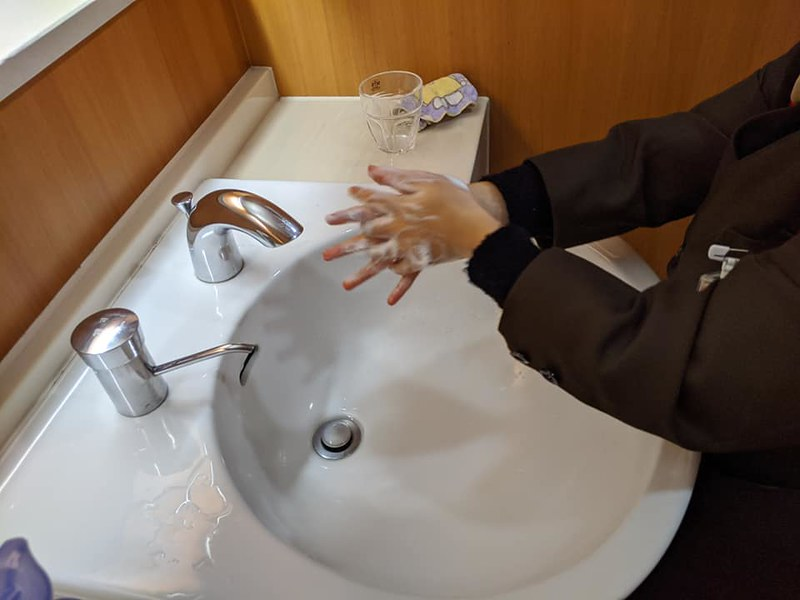 02 手洗い