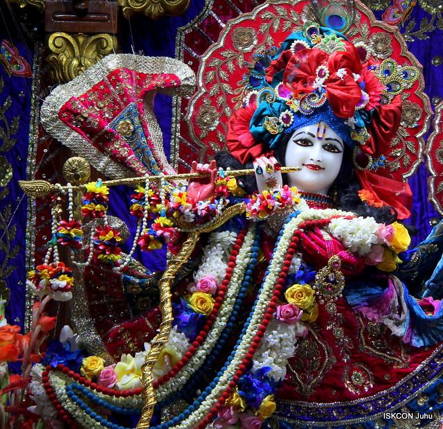 ISKCON Juhu Sringar Deity Darshan on 4th Feb 2020