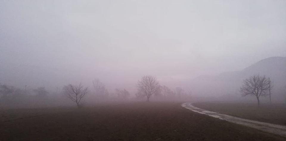 ceață pe valea Someșului