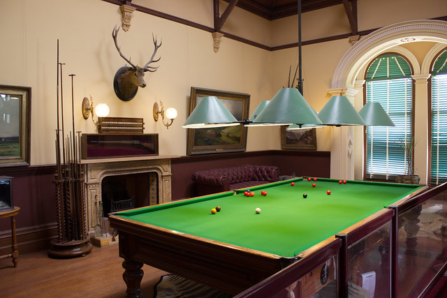 Billiard room, Werribee Mansion