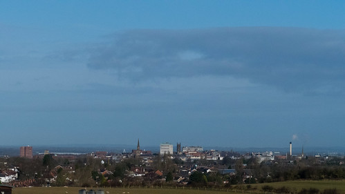 Urban / rural: Sedgley Beacon views