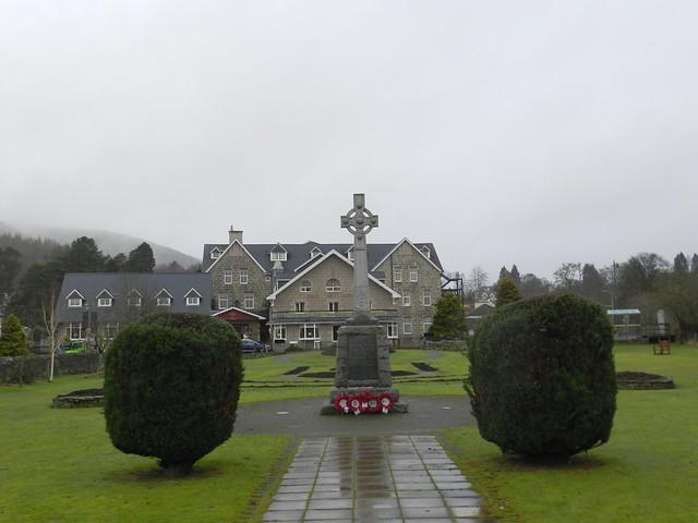Kingussie War Memorial, Kingussie, Jan 2020