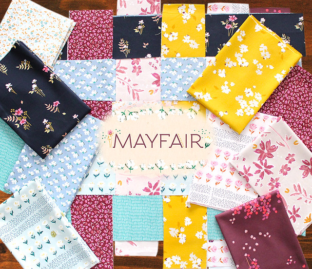 Art Gallery Fabrics Mayfair Collection by Amy Sinibaldi