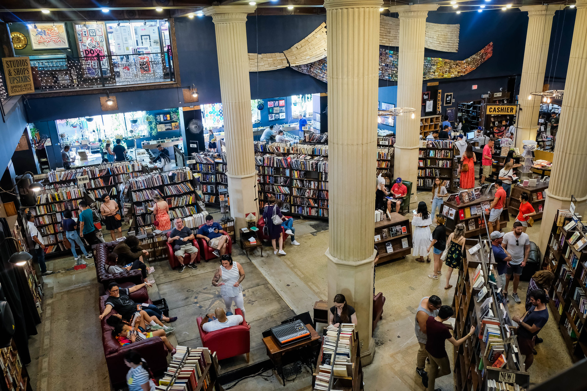 The Last Bookstore in LA