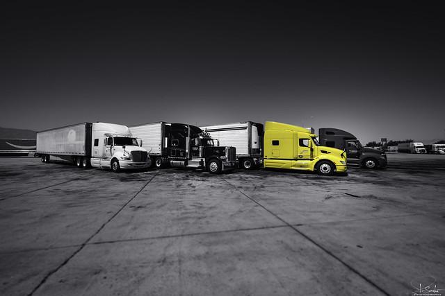 Truck Stop in Coachella - California - USA