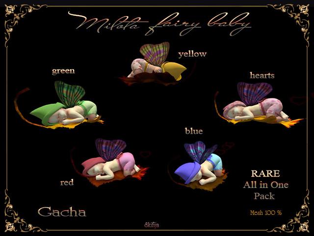 !Skifija Gatcha Milota fairy baby