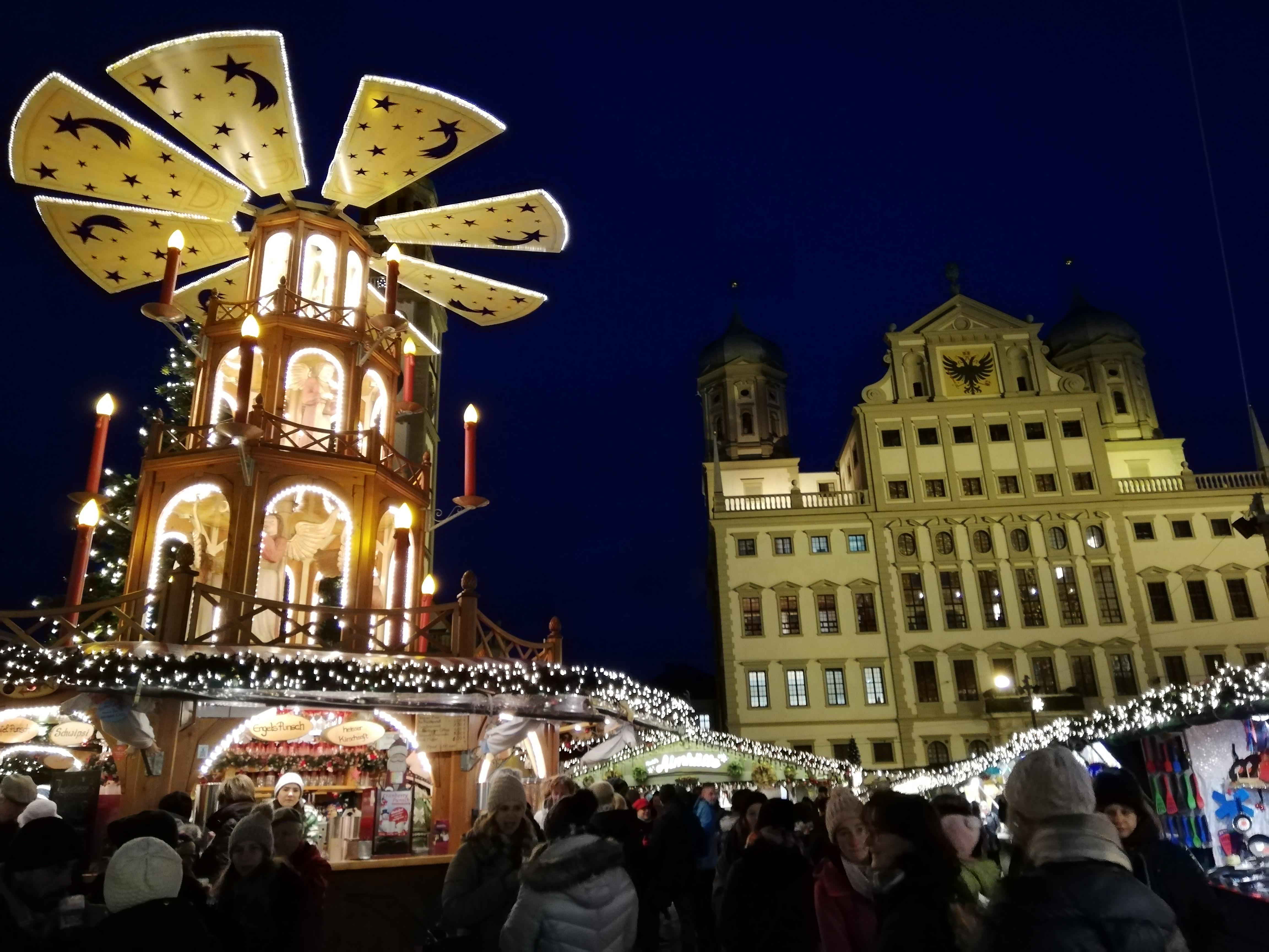 Weihnachtsmarkt Augsburg 2019