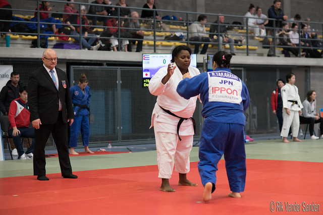 Idalys Ortiz (CUB) vs Takahashi Ruri (JPN)