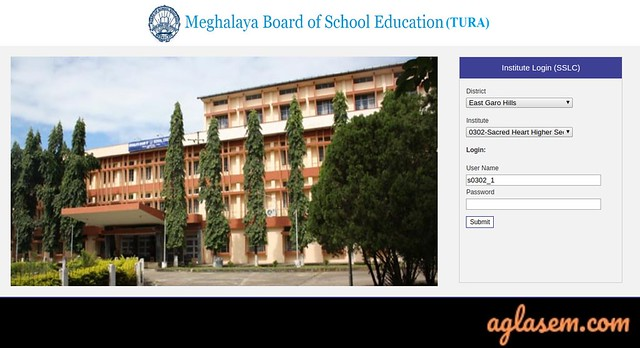 MBOSE Admit Card 2020