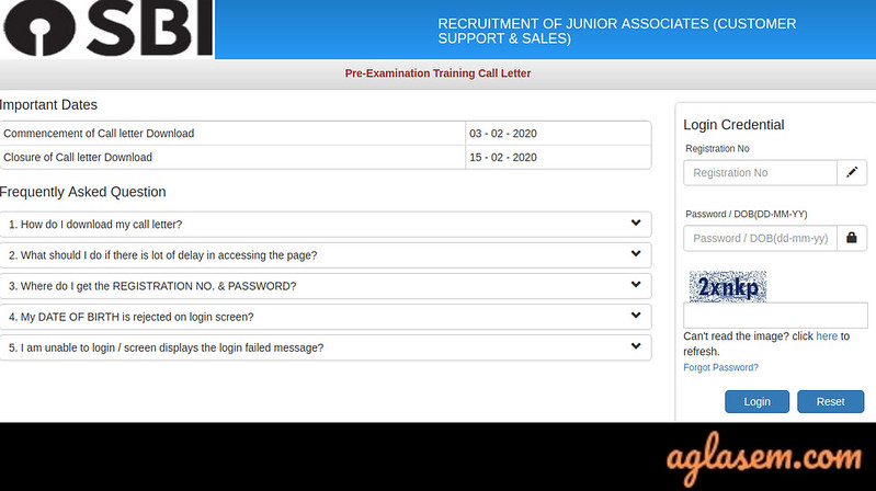 SBI Clerk Admit Card 2020 - Mains Exam Postponed, Download Junior Associate Call Letter (sbi.co.in)