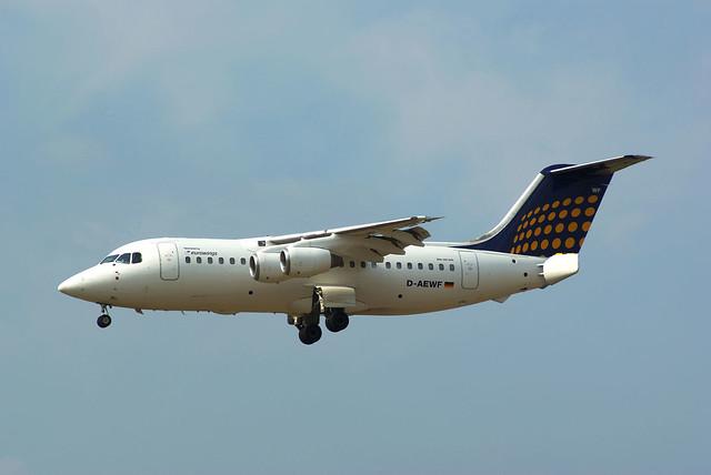 HS46 D-AEWF Eurowings LH Regional col