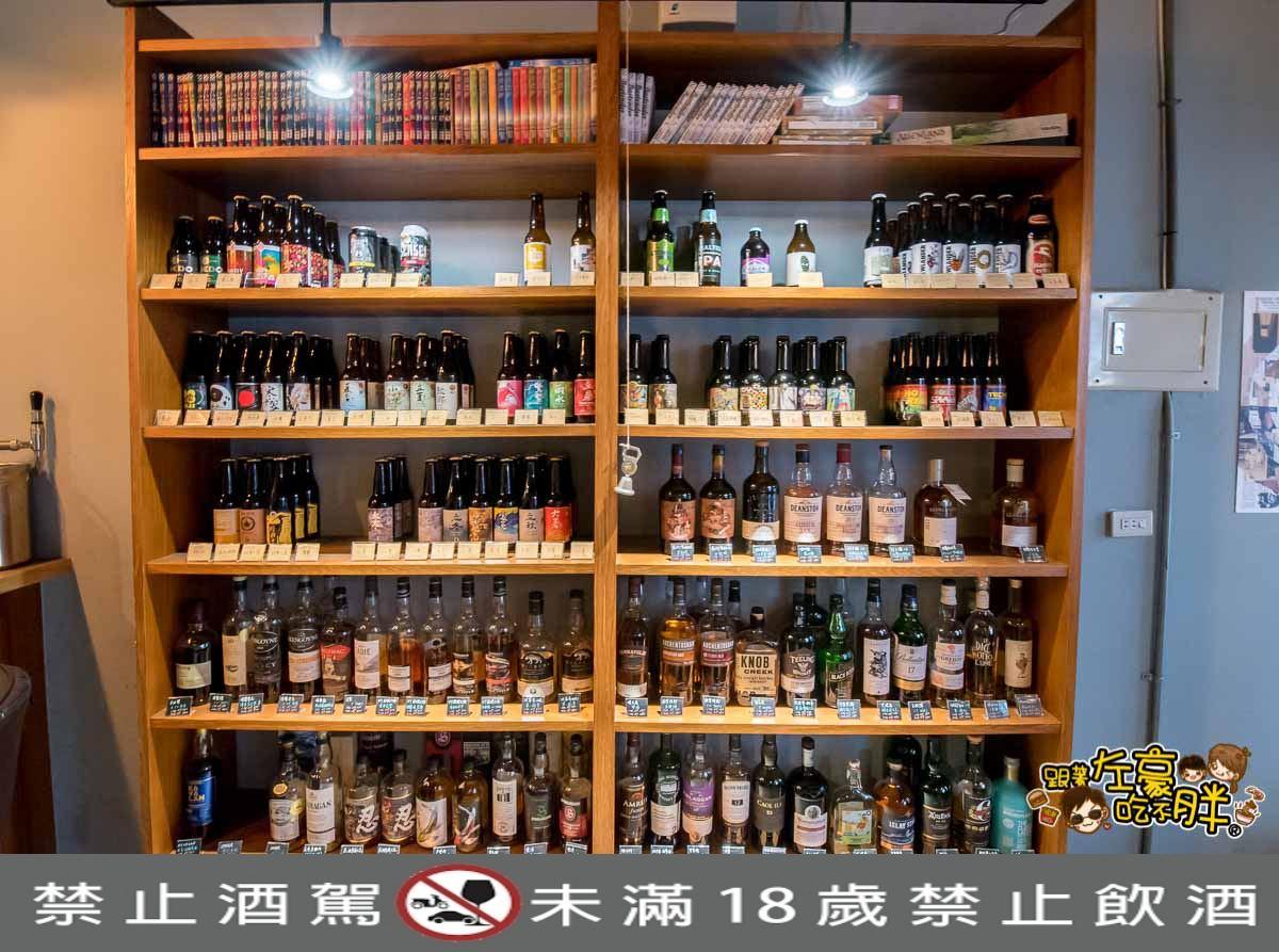 小酌fewdrink 精釀啤酒bar-17 酒標