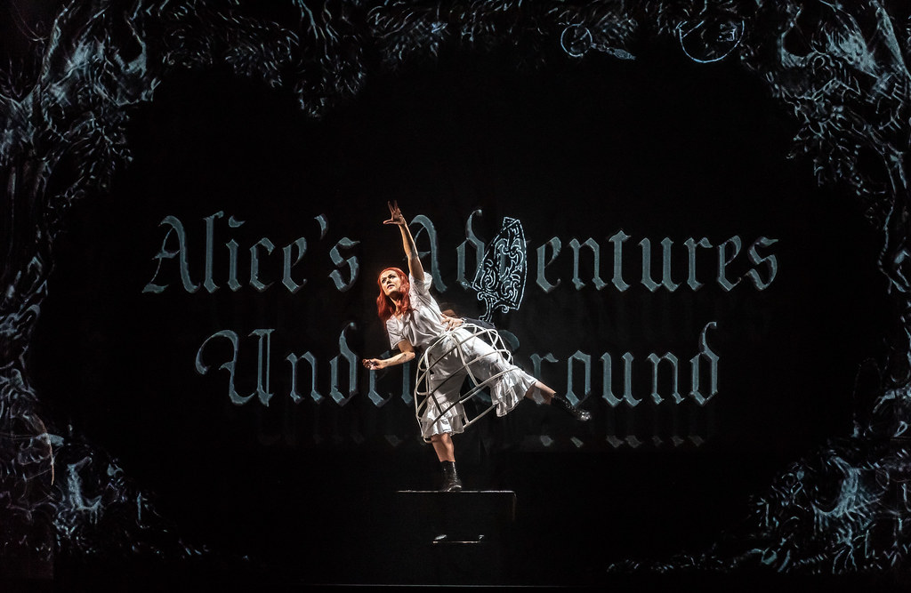 Claudia Boyle in Alice's Adventures Under Ground, The Royal Opera ©2020 ROH. Photograph by Clive Barda