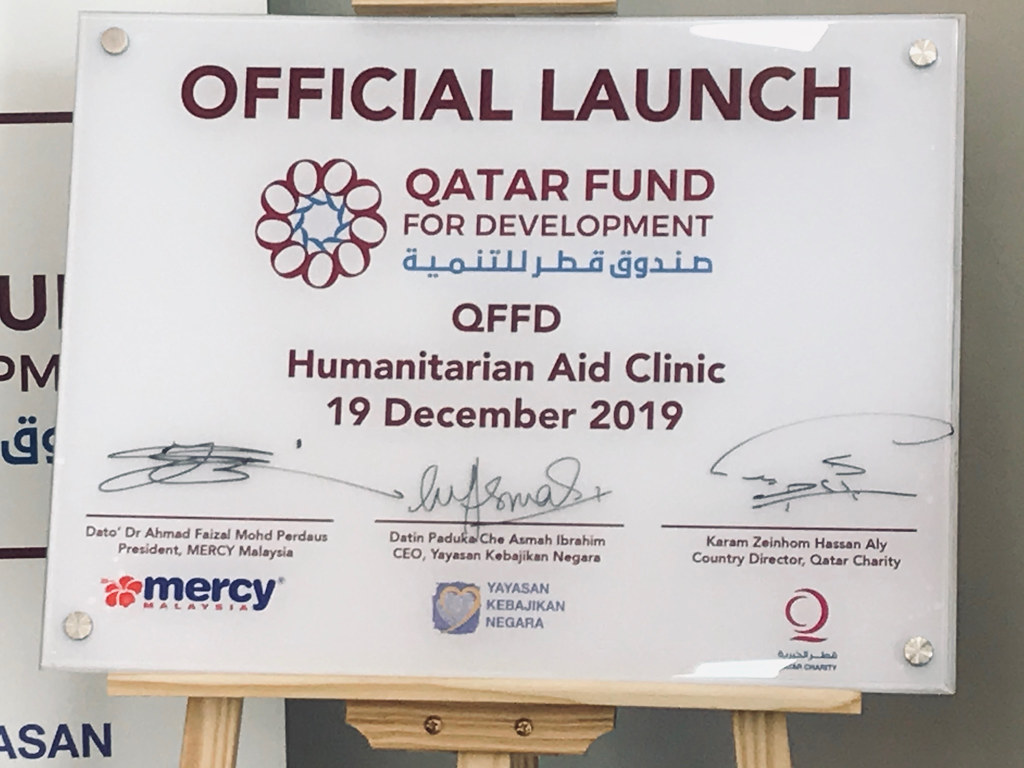 Qatar Fund For Development (QFFD) Humanitarian Clinic Launch 19 Dec 2019 | Ampang