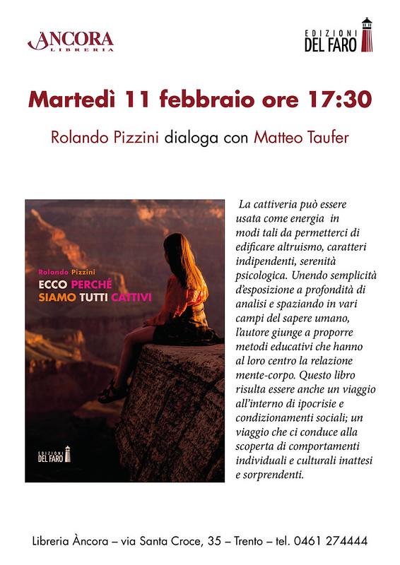 Locandina Ancora Rolando Pizzini