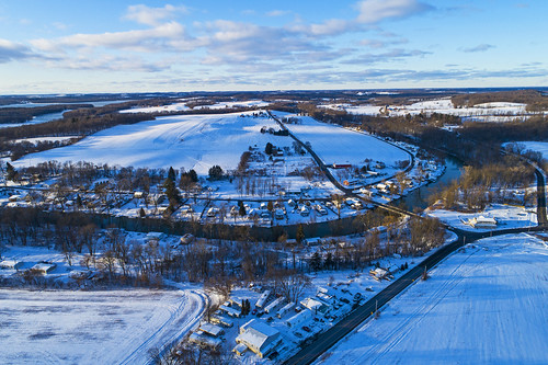 tuesday tbt life nature outdoors rural farm farming winter cold snow snowy air aerial drone drones dji landscape peaceful