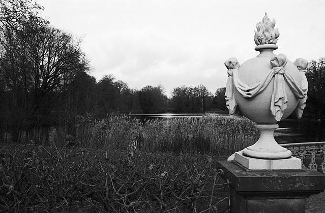 Charlottenburg slot: Søen