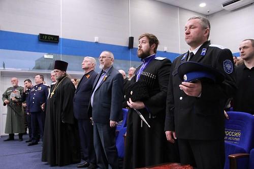 04 февраля 2020, 04 февраля 2019, Ставропольские казаки отпраздновали годовщину возрождения казачества в краевой столице