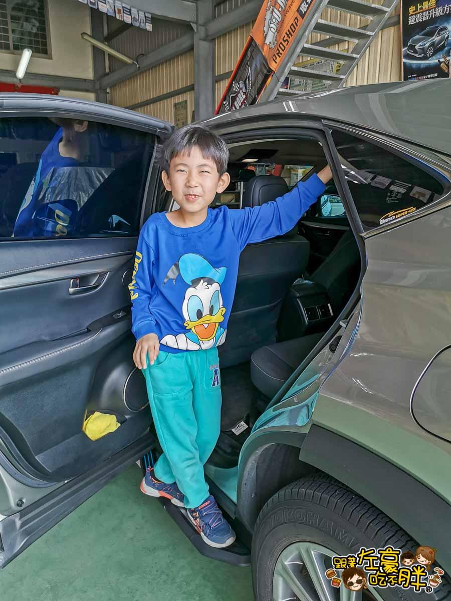 LEXUS NX200側踏板安裝(台南隆田汽車)-13