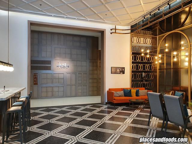 mercure hotel room lobby