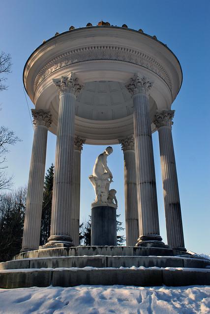 Statue am Nachmittag