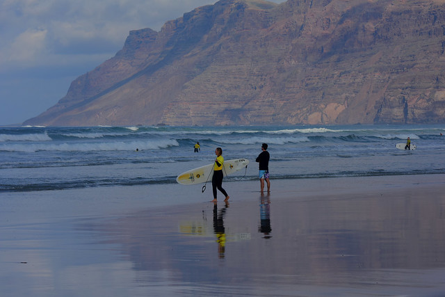 Famara beach, Lanzarote, Islas Canarias, Spain, Nikon_D810, January_2020_935
