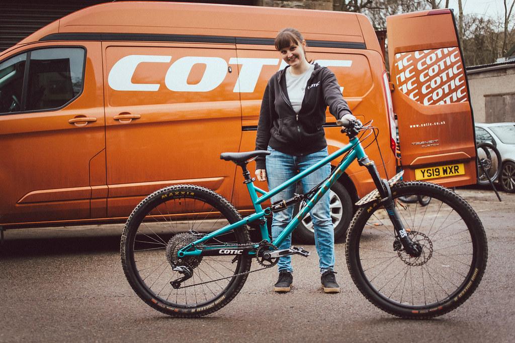 Hannah S Bike check