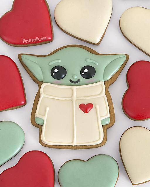 galletas decoradas baby yoda