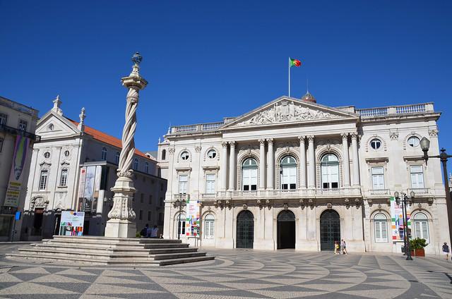 Praca near the centre, Lisbon, Portugal