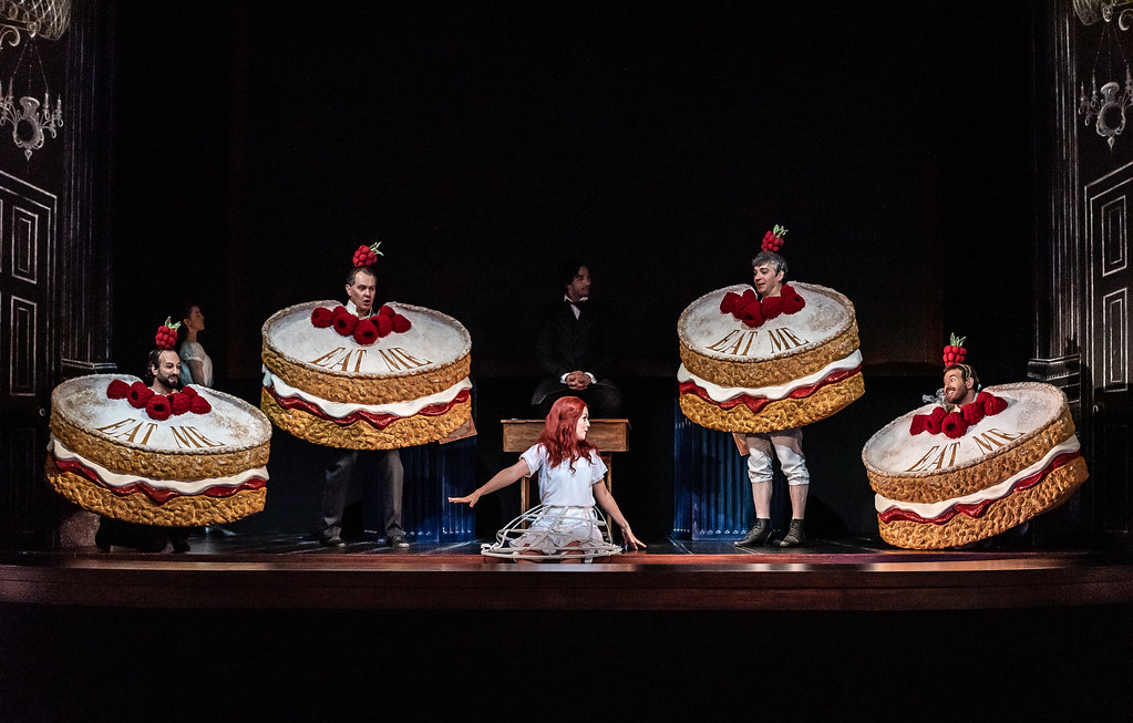 Production photo of Alice's Adventures Under Ground, The Royal Opera ©2020 ROH. Photograph by Clive Barda