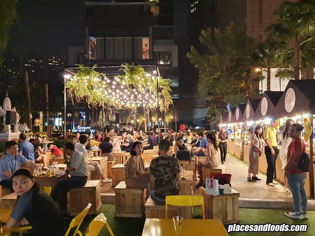 mercure hotel bangkok food bazaar
