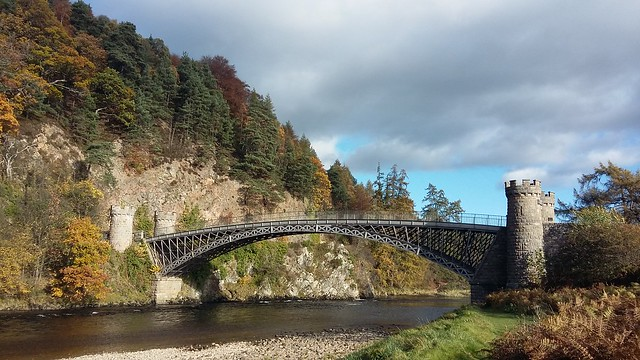 Craigellachie Bridge, Craigellachie, Oct 2019