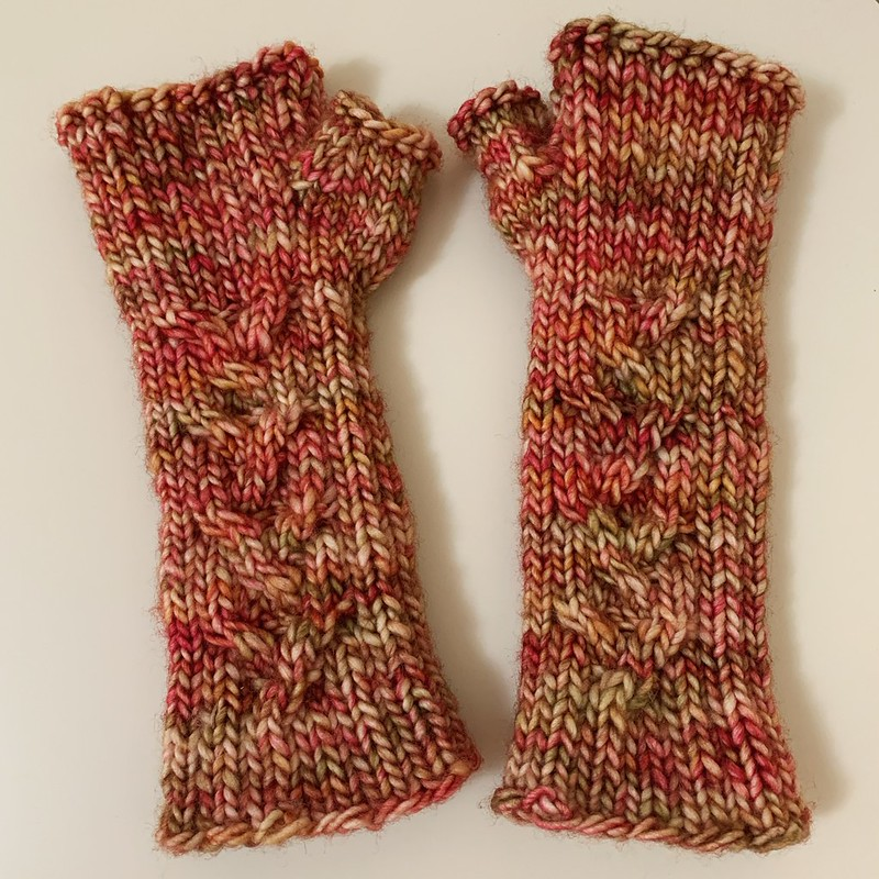 Humanity Fingerless Mitts