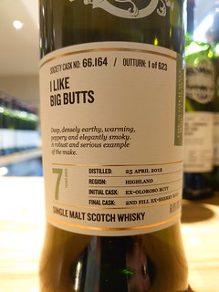 SMWS 66.164 - I like big butts