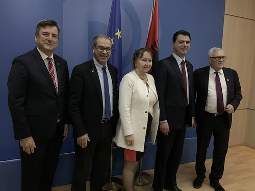 Congress high-level visit to Albania