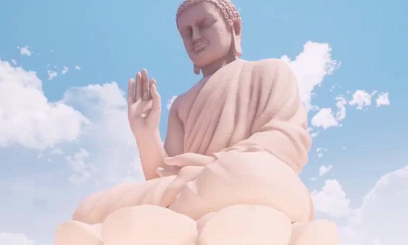 Rupaka Buddha 40 Meter akan Berdiri di Cáceres