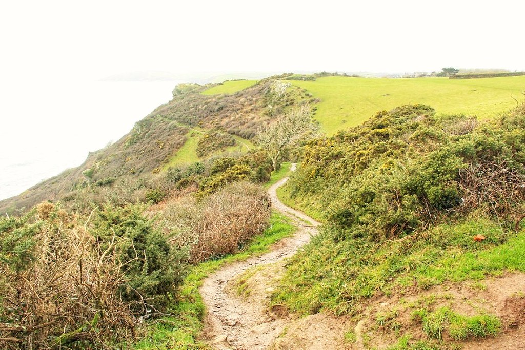 South West Coast Path, Polruan to Lantic Bay